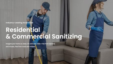 Best Sanitizing and Cleaning Company WordPress Theme 2021