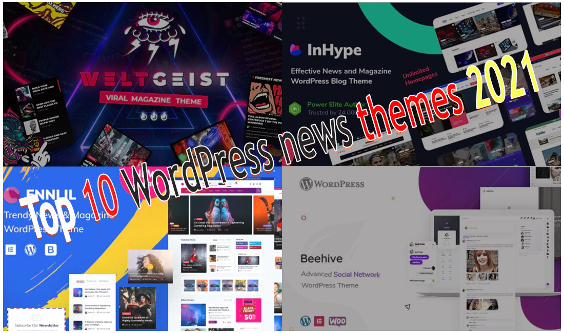 Top 10 Best WordPress News Themes 2021