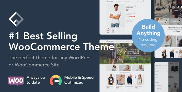Flatsome - Top 10 WordPress eCommerce themes 2021