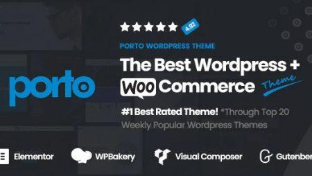 Porto- Multipurpose & WooCommerce Theme