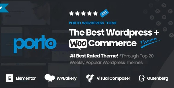 Porto- Multipurpose & WooCommerce Theme