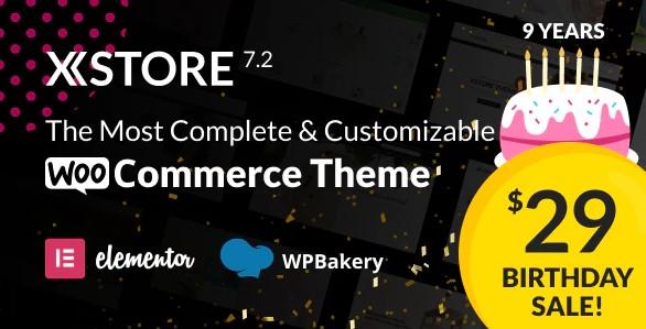xstore - Top 10 WordPress eCommerce themes 2021