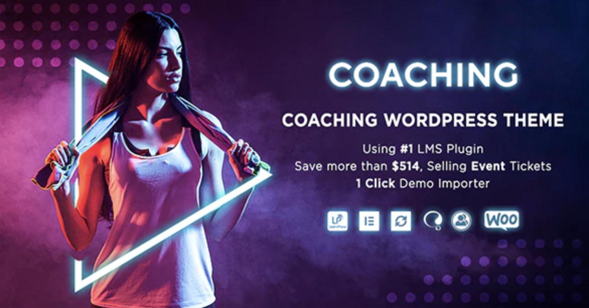 Colead Coaching & Online Courses WordPress Theme