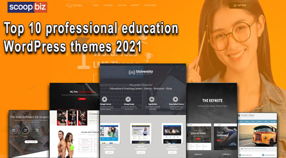 Top 10 professional education WordPress themes 2021