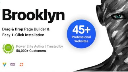 Brooklyn – Creative Multi-Purpose Responsive WordPress Theme