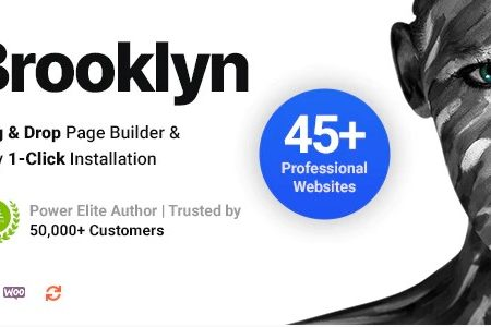 Brooklyn – Creative Multi-Purpose Responsive WordPress Theme
