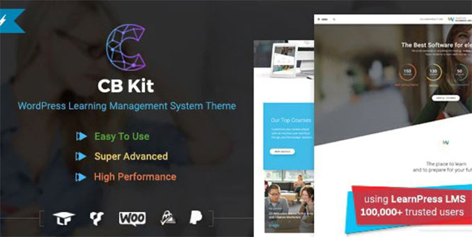 CBKit- Course & LMS WordPress Theme