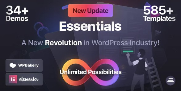 Essentials: Multipurpose WordPress Theme