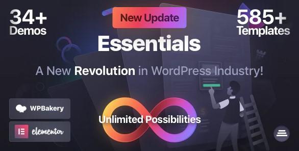 Essentials: Multipurpose WordPress Theme