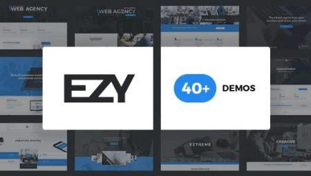 EZY: Responsive Multi-Purpose WordPress Theme
