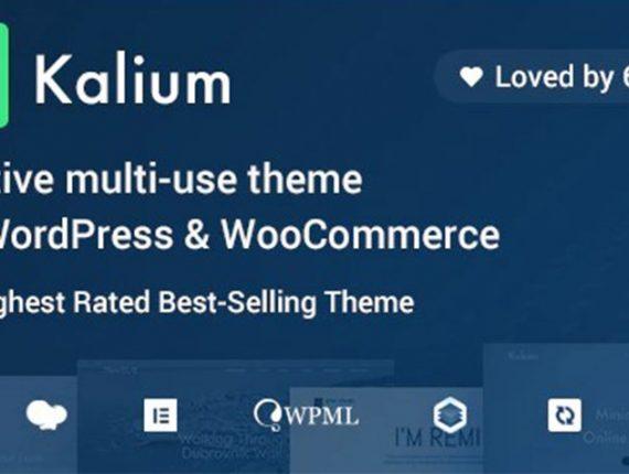 Kalium – Creative Theme for Professionals