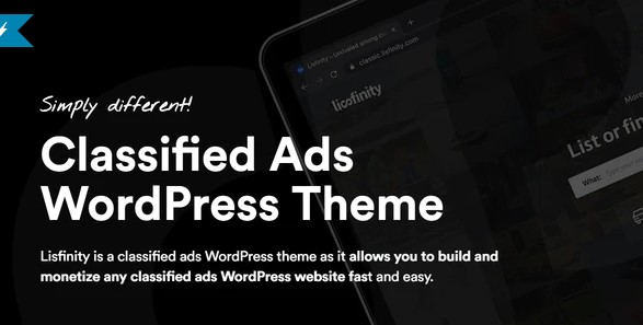 Lisfinity: Classified Ads WordPress Theme
