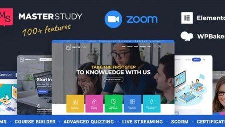 Masterstudy- Education WordPress Theme