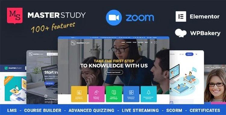 Masterstudy- Education WordPress Theme