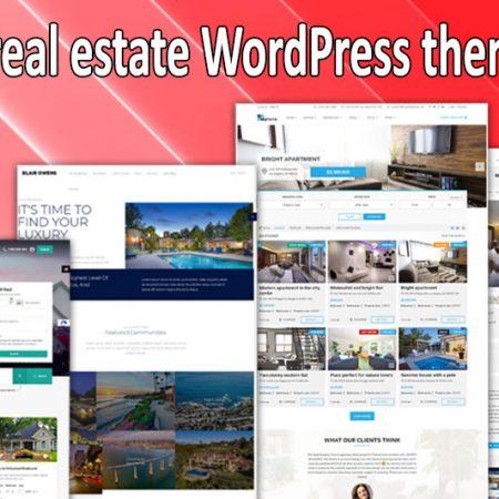 Top 10 real estate WordPress themes 2021