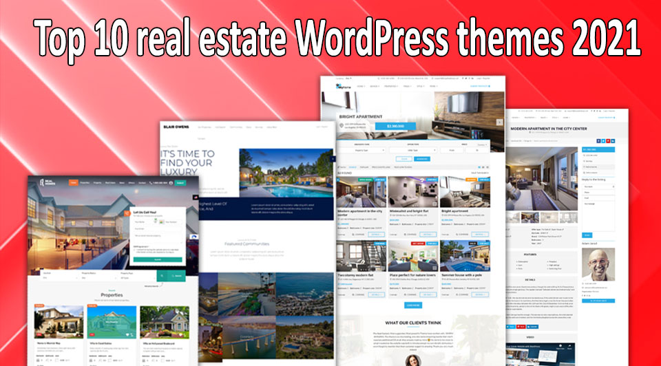 Top 10 real estate WordPress themes 2021