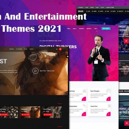 Top 10 fun and entertainment WordPress themes 2021