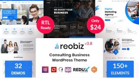 Reobiz: Consulting Business WordPress Theme