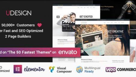 uDesign – Responsive WordPress Theme