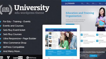 University – Education, Event, and Course Theme
