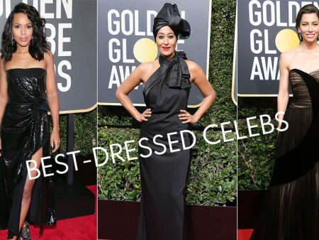 Best-dressed celebs stealing light at 78th Golden Globe Awards
