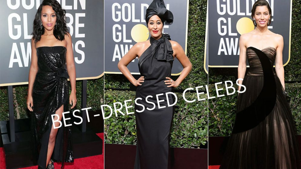 Best-dressed celebs stealing light at 78th Golden Globe Awards