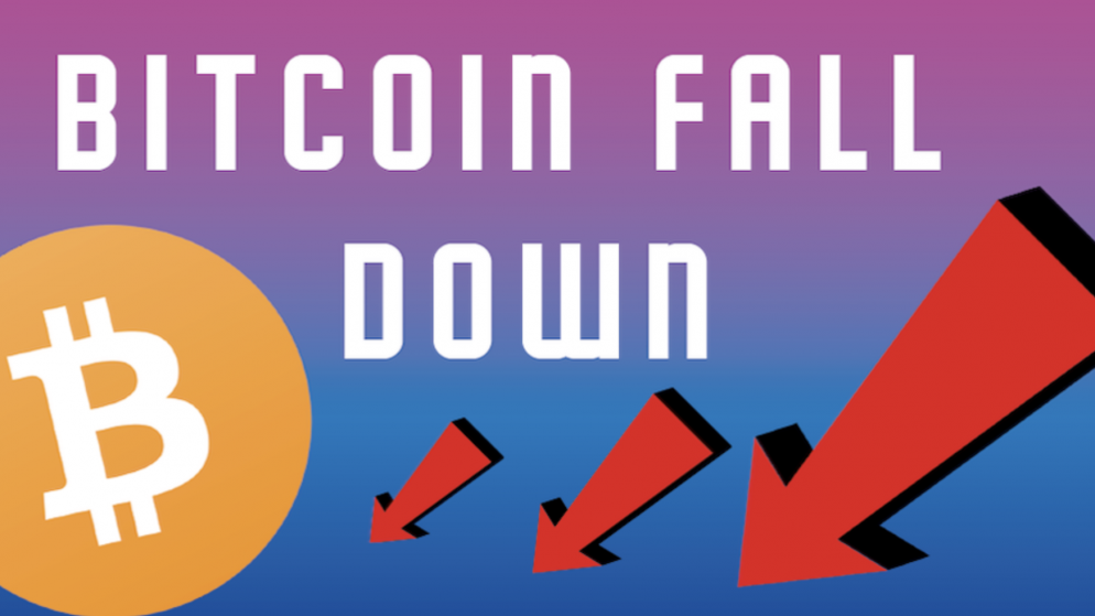 Why Bitcoin Fall Down:  A sudden slide of 11% to below $45,000 since last April
