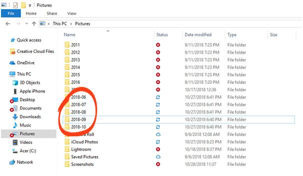 transfer via Windows Explorer or in Windows 7