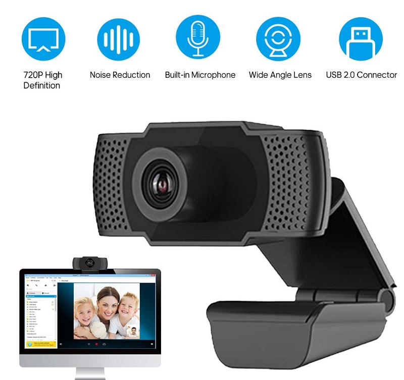 High-definition webcam