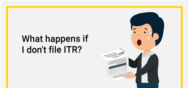 if you didn't file an ITR