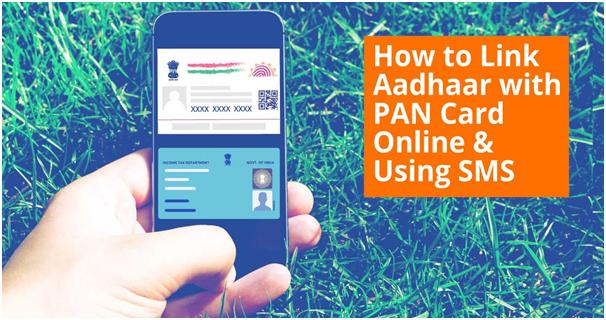 Link Aadhaar with PAN Card via SMS service