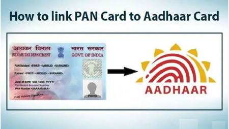 A step-by-step guide to link Aadhaar with PAN card online and using SMS