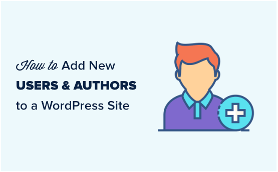 How to add a new author on WordPress