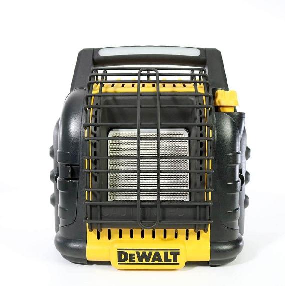 Propane-powered heater