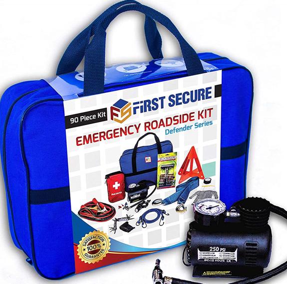 Van life essentials Emergency Car Kit