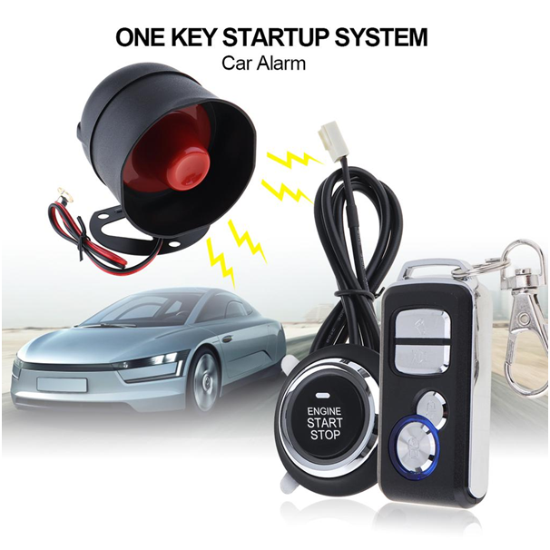 Van life essentials car remote starter and alarm systems