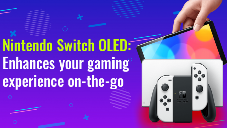 Nintendo Switch OLED: Enhances your gaming experience on-the-go