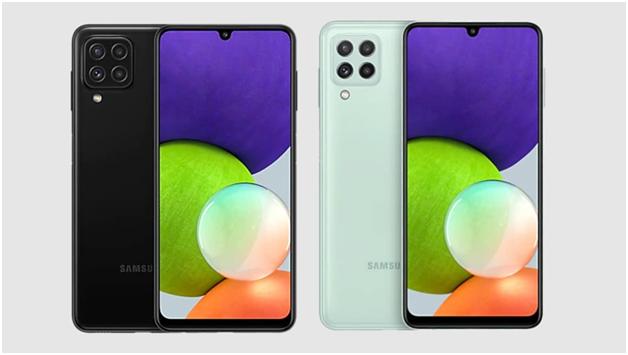 Samsung F22 Design and Display