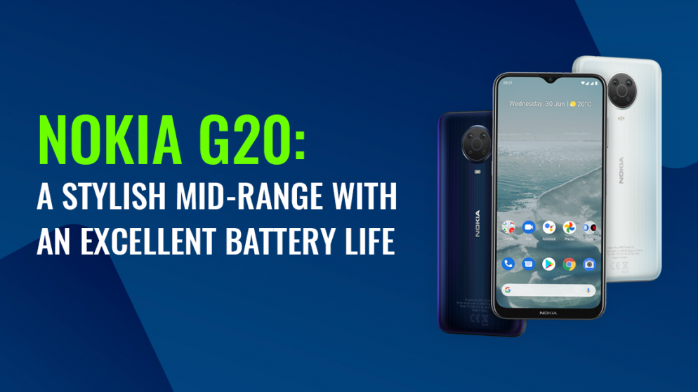 Nokia G20: A stylish mid-range with an excellent battery life