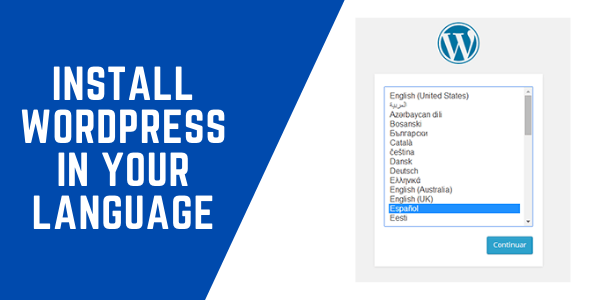 How to Install WordPress in your Language