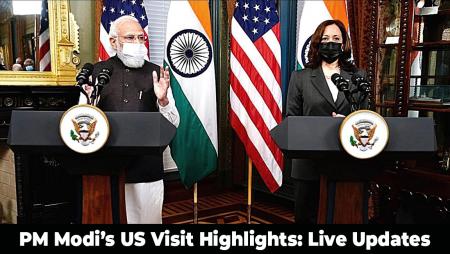 Live updates about PM Modi's US Visit