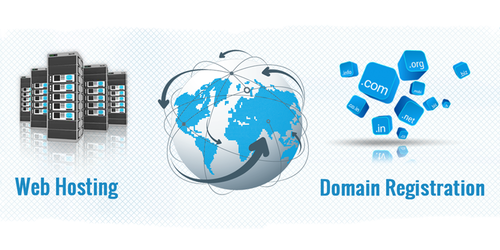 Choose your blog's domain and hosting.