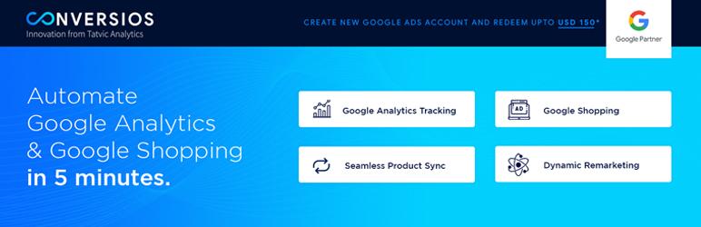 3. Google Analytics and Google Shopping plugin